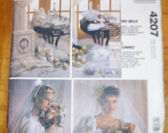 McCalls Crafts 4207 bridal Sewing Pattern