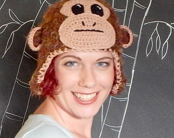 CROCHET PATTERN: Monkey