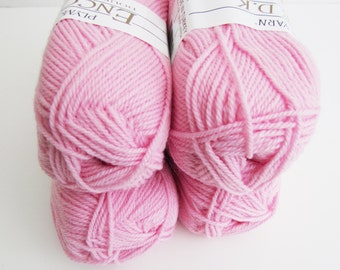 PINK Plymouth Encore DK Double Knitting Weight Soft Pink Color 449
