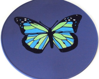 Lavender Butterfly Kitchen Trivet Table Trivet Kitchen Hot Pad Table Setting