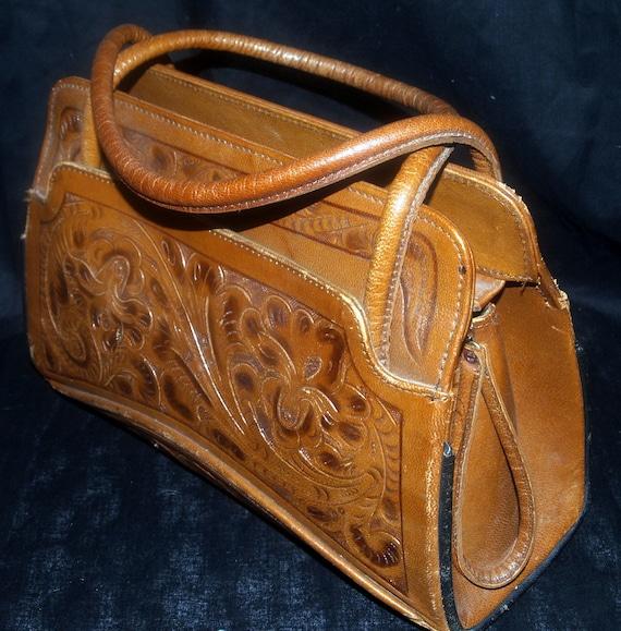 Vintage Hand Tooled Leather 71