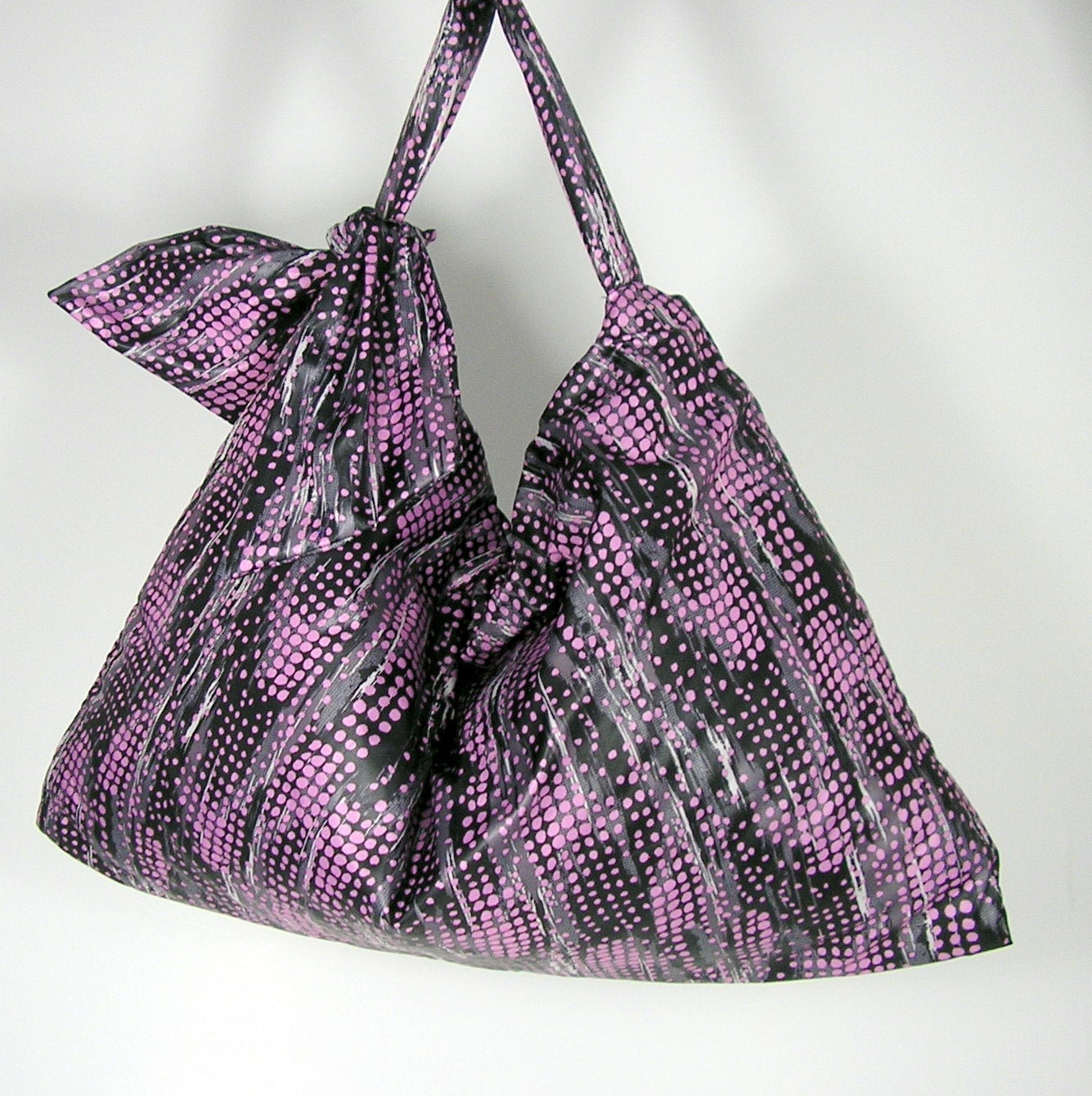 SALE Hobo Bag Purple Boho Summer Purse Travel Bag Beach Bag