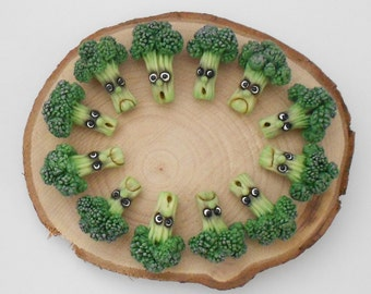 Fantasy vegetables with faces - BROCCOLI