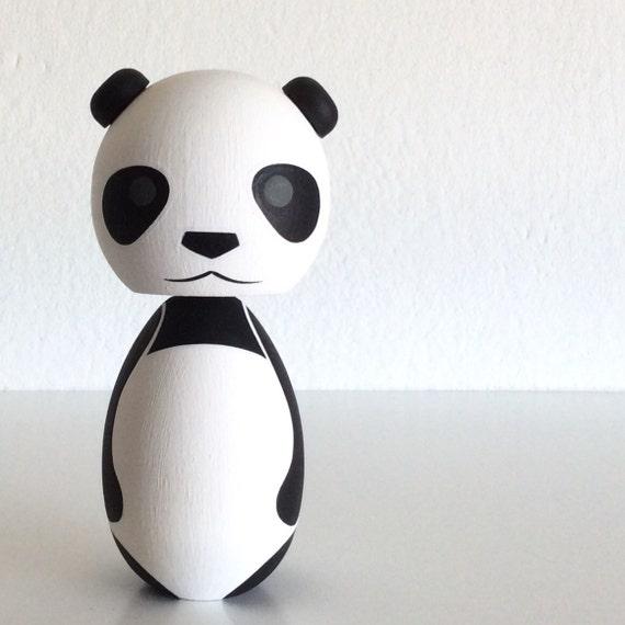 Kokeshi doll  Panda