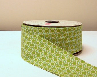 "Anna Maria Horner LouLouThi 2 1/4"" Single Fold Apple Cotton Bias Binding 35 Yds"