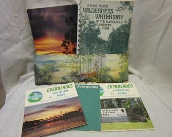 Vintage Bundle of  Florida Everglades Ephemera