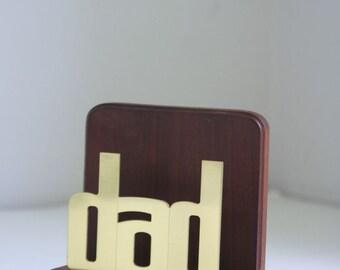 Vintage dad letter holder