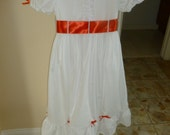 Mary Poppins inspired girl's dress