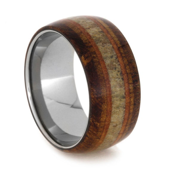 mens titanium wedding band unique anniversary by