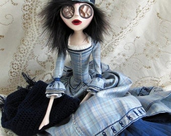 Emelda - A Victorian Surreal Art Doll
