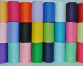 1.5 inch x 50 yds grosgrain ribbon -Navy