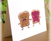 Peanut Butter and Jelly Love Greeting