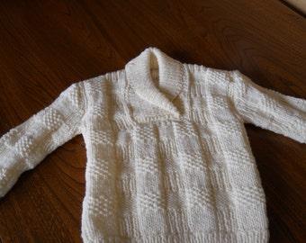 Child's aran sweater/child's aran jumper