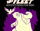 Boulder and Fleet: Adventurers for Hire mini-comic