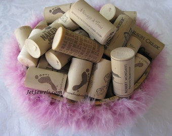 50 Corks, Wine Corks, Used Corks, Recycled Corks, Wine Wedding, Cork Crafts, Cork Wreath, Synthetic Corks, Plastic Rubber Corks,