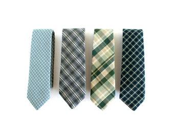 Custom Wedding Neckties & Pocket Square Combo - Wedding Ties - Wedding Neckties with (Optional) Matching Pocket Squares - Wedding Neckties