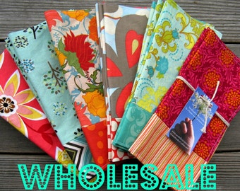 WHOLESALE - Reversible Cotton Napkins- 18 sets of 4