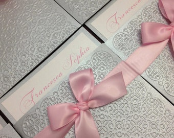 Sweet Sixteen or Quinceanera invitations