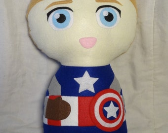 Steve Rogers/Captain America Cuddle Plush