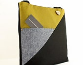 Closeout Sale--WC Tote- Linen and Canvas Tote- Ready to Ship