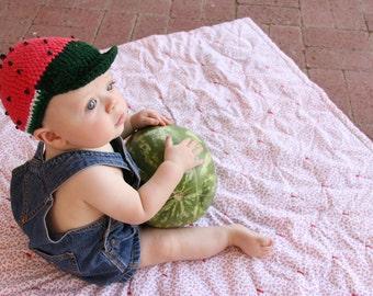 Summer Watermelon Hat Newborn Baby Toddler