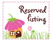 Reserved tsum tsum 3 meters