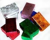 Small Jewelry Display/Gift Boxes - Metallic - Liquidation Sale