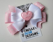 Barbie - Hair Bow - Light Pink