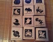 Stampin' Up Halloween stamp set - BITTY BOOS TOO