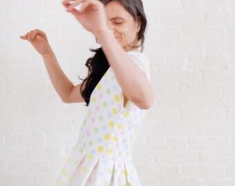 Pastel polka ~ a day dress
