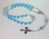 Swarovski Crystal Rosary - Anglican, Made to Order - Any Colors