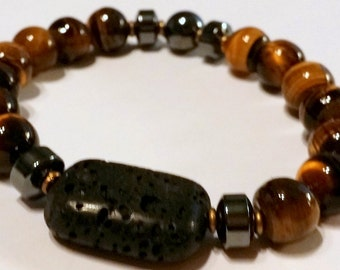 Male Tiger Eye Fertility Bracelet