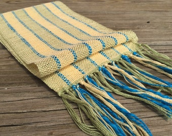 Summer Circus Cast Handwoven Scarf