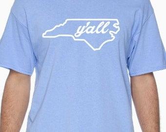 "North Carolina Say ""y'all"""