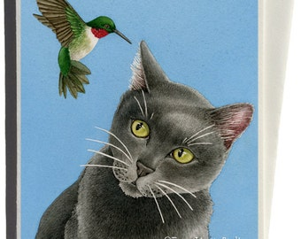 There's Something Humming in my Ear Greeting Card by Tracy Lizotte