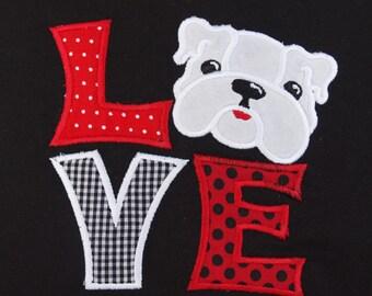 Georgia  Bulldog UGA Bulldawg short Sleeved Onesie or Tshirt