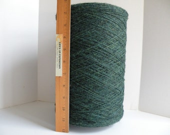Weaving weft or warp, STRONG twine string 1mm dark green nylon for rug making, table runners, rag rugs, placemats, market bags