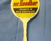 Vintage Hershey's Mr. Goodbar Advertising Hand Mirror Candy Premium
