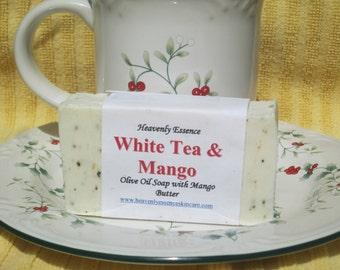 White Tea and Mango Goat Milk Olive oil Soap