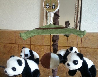 Panda-monium Crib Mobile (other animals available too)