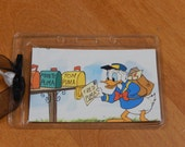Luggage Bag Tag ID Holder Disney Donald Duck