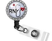 Badge Reel, Nurse Badge, Retractable ID Holder, ID Badge, Gifts for Nurses, Quote Badge, Scrub Accessories, Nurse Life, Nurse Gifts