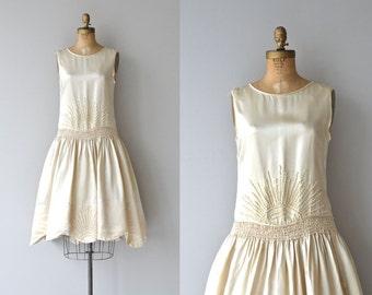 Bright Spirit wedding dress   vintage 1920s wedding dress • silk 20s dress