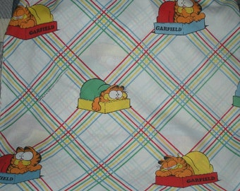 Garfield Twin Fitted Bed Sheet 1978