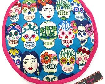 Frida Heads Tortilla Warmer