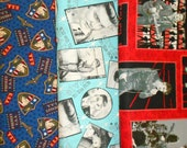 ELVIS  #2  fabrics, sold individually,not as a group, sold by the Half Yard, please see body of listing