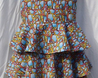 Size 5  Reflected Puddles Dress