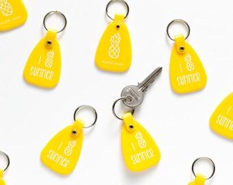 pineapple keychain - I Pineapple Summer