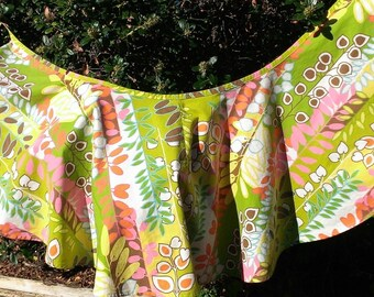 Flirty wrap skirt