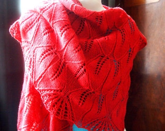 Instant Download pdf Hand Knitting Pattern - Peony